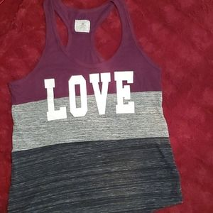 Reflex racer back tank top